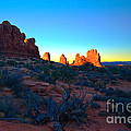 Sunrise At Arches National Park by Tara Turner