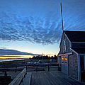 Sunrise At Barnstable Yacht Club by Charles Harden