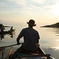 Sunrise At Blake Point by John Meader