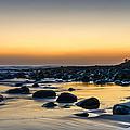 Sunrise At Burleigh by Christina Magri