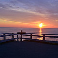 Sunrise At Cape Spear St Johns Newfoundland by Lisa Phillips