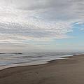 Sunrise At Chincoteague Island Beach by Jack Nevitt