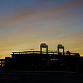 Sunrise At Citizens Bank Park by Bill Cannon