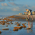 Sunrise At Cocoa Beach by Nikolyn McDonald