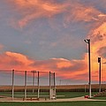 Sunrise At Field Of Dreams by Christopher Miles Carter