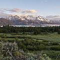 Sunrise At Grand Teton by Brian Harig