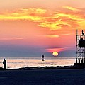 Sunrise At Indian River Inlet by Kim Bemis