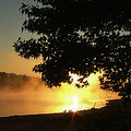 Sunrise At Lake Lanier 006 by George Bostian