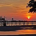 Sunrise At Lake Shelby by Michael Thomas