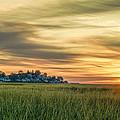 Sunrise At Little Neck by David Stone