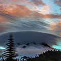 Sunrise At Mount Hood   by Norman Strickland