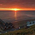 Sunrise At Saltburn by Gary Eason