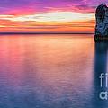 Summer Sunrise Selwick Bay Flamborough by Richard Burdon