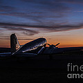 Sunrise At The Airport by Amber Kresge