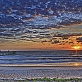 Sunrise At The Beach by Alice Gipson