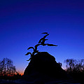 Sunrise At The Navy  Merchant Marine Memorial by Metro DC Photography