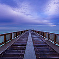 Sunrise At The Panama City Beach Pier by David Morefield