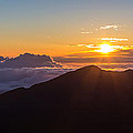 Sunrise At The Summit Of Haleakala by Pierre Leclerc Photography