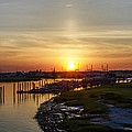 Sunrise At Two Mile Inlet - Wildwood Crest by Bill Cannon