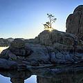 Sunrise At Watson Lake by Dan Myers