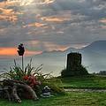 Sunrise At Wetzelsberg  by Hildie Hofmann