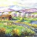 Sunrise Farm Stand by Carol Wisniewski