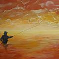 Sunrise Fishing by Donna Blackhall