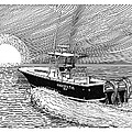 Sunrise Fishing by Jack Pumphrey