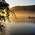 Sunrise Fishing On The Chattahoochee by Mark E Tisdale