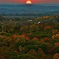 Sunrise From Atop by Julie Franco