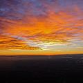 Sunrise From The Airplane by Jennifer Lamanca Kaufman