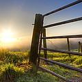 Sunrise  Gate by Debra and Dave Vanderlaan