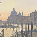 Sunrise Grand Canal by Julian Barrow