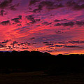 Sunrise In The Foothills by Robert Bales