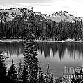Sunrise Lake In Black And White by Charles Robinson