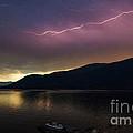 Sunrise Lightning by Joy McAdams
