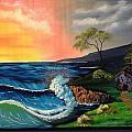 Sunrise Ocean by Dave Steps