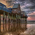 Sunrise Old Orchard Beach by Jerry Fornarotto