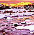 Sunrise On A Cold Day by Bob and Nadine Johnston