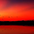 Sunrise On A Loch by John Farnan