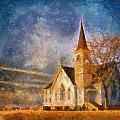 Sunrise On A Rural Church 13 by Thomas Woolworth