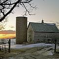 Sunrise On Birch by Bonfire Photography