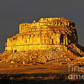 Sunrise On Fajada Butte by Kathy McClure
