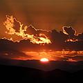 Sunrise On Fire by Donna Jackson