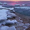 Sunrise On Ice by Leda Robertson