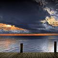 Sunrise On Key Islamorada In The Florida Keys by Randall Nyhof