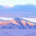 Sunrise On Snow Capped Mountains by Tracie Kaska