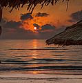 Sunrise On The Beach by Martin Kucera