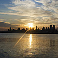 Sunrise On The Big Apple by Bill Cannon