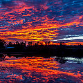 Sunrise On The Fishing Hole by David Barile